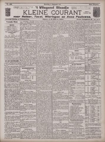 Vliegend blaadje : nieuws- en advertentiebode voor Den Helder 1913-08-02