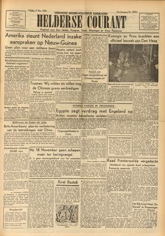 Heldersche Courant 1950-11-17