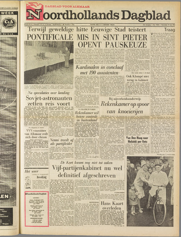 Noordhollands Dagblad : dagblad voor Alkmaar en omgeving 1963-06-19