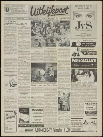 Uitkijkpost : nieuwsblad voor Heiloo e.o. 1989-04-26
