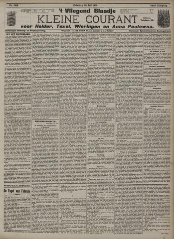 Vliegend blaadje : nieuws- en advertentiebode voor Den Helder 1910-07-30
