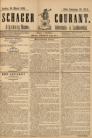 Schager Courant 1889-03-24