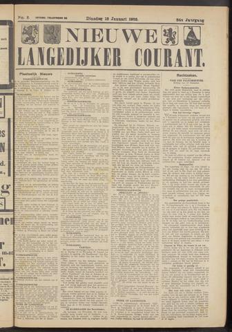 Nieuwe Langedijker Courant 1925-01-13