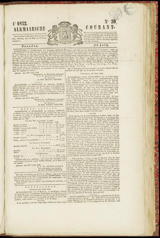 Alkmaarsche Courant 1852-07-26
