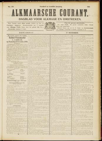 Alkmaarsche Courant 1910-11-17