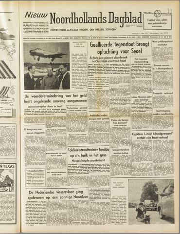 Nieuw Noordhollandsch Dagblad : voor Alkmaar en omgeving 1951-05-21