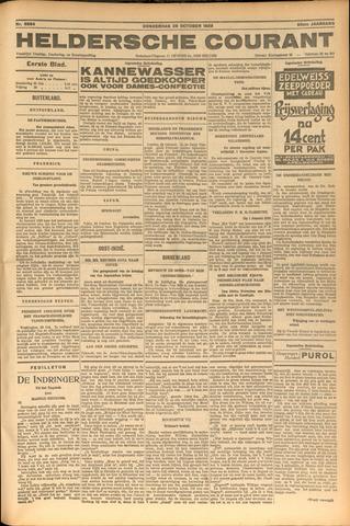 Heldersche Courant 1928-10-25