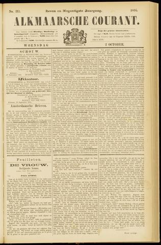 Alkmaarsche Courant 1895-10-02