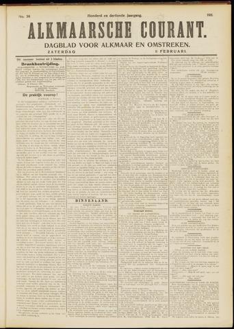 Alkmaarsche Courant 1911-02-11