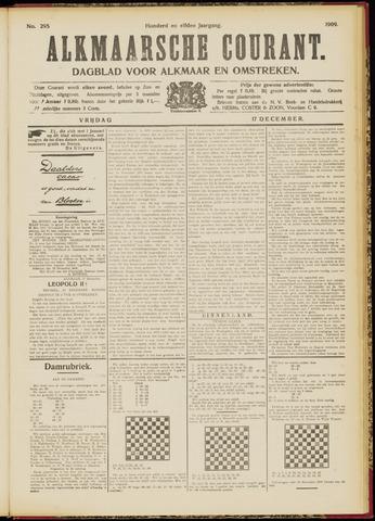 Alkmaarsche Courant 1909-12-17