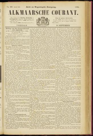 Alkmaarsche Courant 1896-09-18