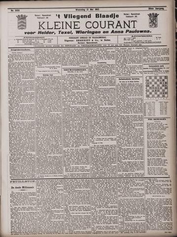 Vliegend blaadje : nieuws- en advertentiebode voor Den Helder 1902-05-21