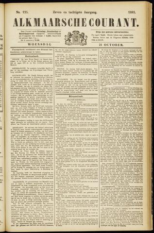 Alkmaarsche Courant 1885-10-21