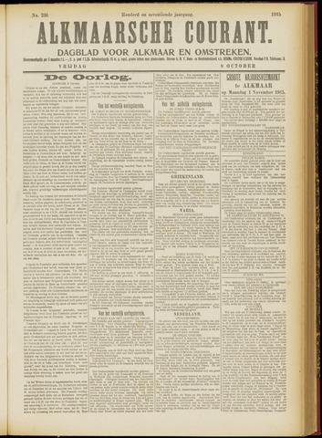 Alkmaarsche Courant 1915-10-08