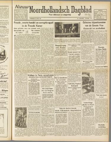 Nieuw Noordhollandsch Dagblad : voor Alkmaar en omgeving 1947-04-23
