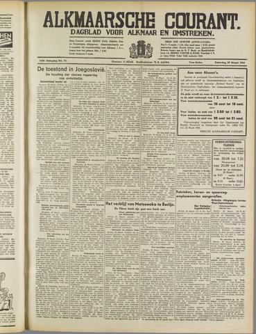 Alkmaarsche Courant 1941-03-29