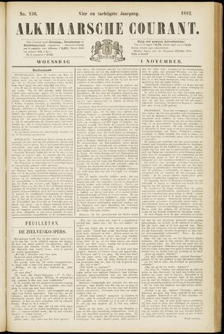Alkmaarsche Courant 1882-11-01