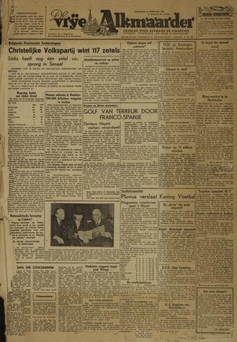 De Vrije Alkmaarder 1946-02-25