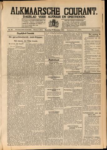 Alkmaarsche Courant 1934-11-12
