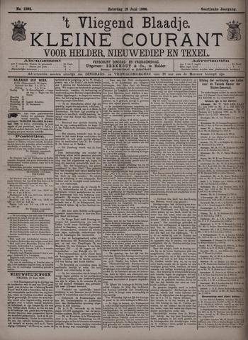 Vliegend blaadje : nieuws- en advertentiebode voor Den Helder 1886-06-19
