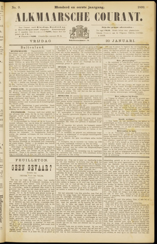 Alkmaarsche Courant 1899-01-20