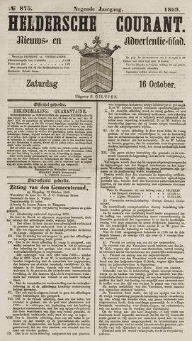Heldersche Courant 1869-10-16