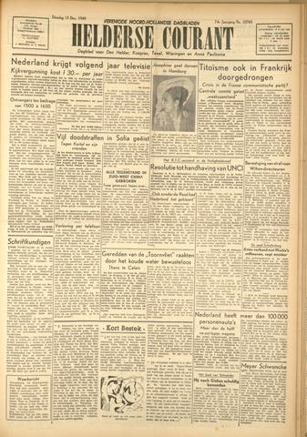 Heldersche Courant 1949-12-13