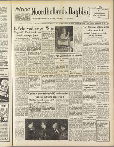 Nieuw Noordhollandsch Dagblad : voor Alkmaar en omgeving 1951-03-01