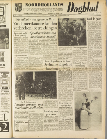 Noordhollands Dagblad : dagblad voor Alkmaar en omgeving 1962-07-19