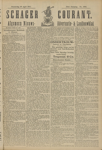 Schager Courant 1911-04-20