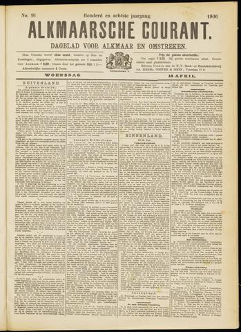 Alkmaarsche Courant 1906-04-18