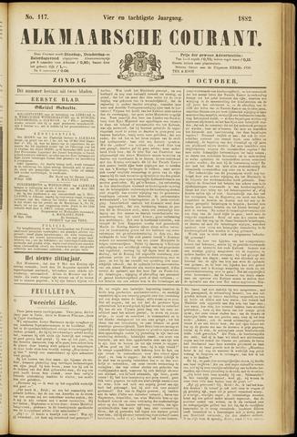 Alkmaarsche Courant 1882-10-01