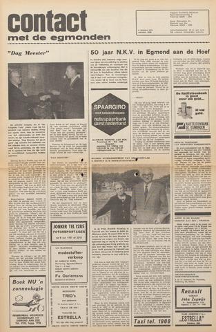 Contact met de Egmonden 1971-10-06