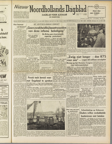 Nieuw Noordhollandsch Dagblad : voor Alkmaar en omgeving 1951-10-10