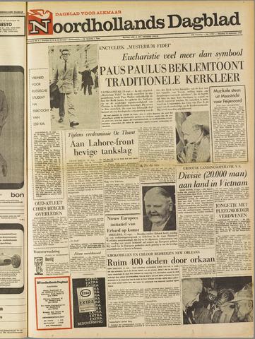 Noordhollands Dagblad : dagblad voor Alkmaar en omgeving 1965-09-13