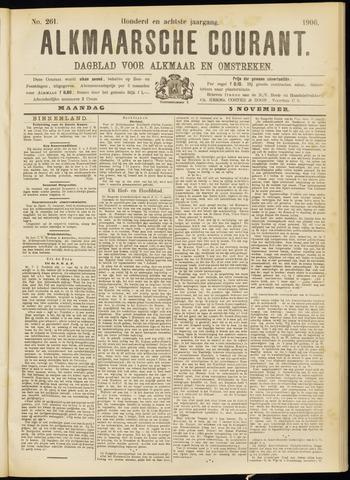 Alkmaarsche Courant 1906-11-05