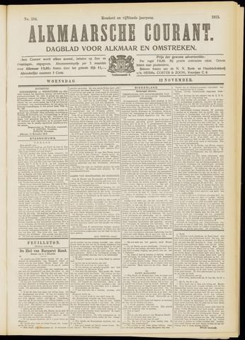 Alkmaarsche Courant 1913-11-12
