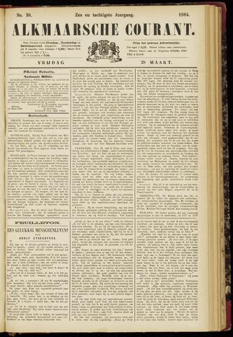 Alkmaarsche Courant 1884-03-28