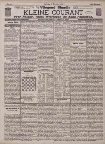 Vliegend blaadje : nieuws- en advertentiebode voor Den Helder 1912-11-23