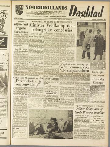 Noordhollands Dagblad : dagblad voor Alkmaar en omgeving 1961-12-12