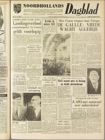 Noordhollands Dagblad : dagblad voor Alkmaar en omgeving 1962-02-06