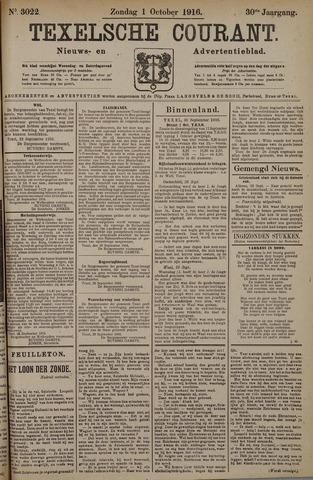 Texelsche Courant 1916-10-01