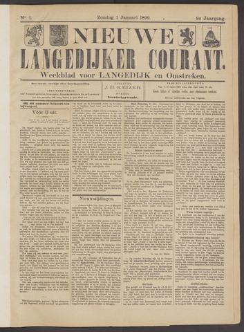 Nieuwe Langedijker Courant 1899-01-01