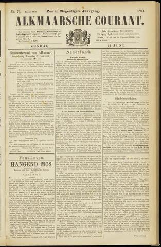 Alkmaarsche Courant 1894-06-24
