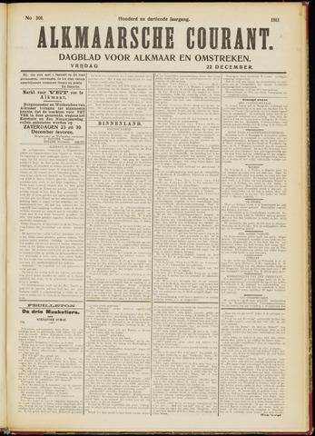 Alkmaarsche Courant 1911-12-22