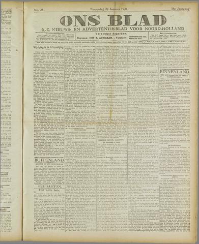 Ons Blad : katholiek nieuwsblad voor N-H 1920-01-28
