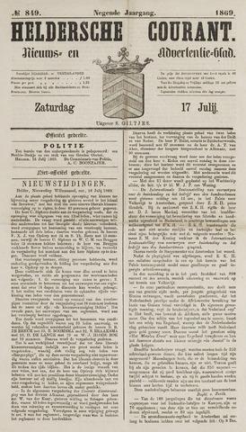 Heldersche Courant 1869-07-17