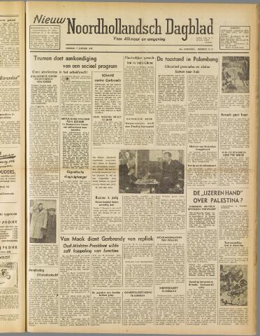 Nieuw Noordhollandsch Dagblad : voor Alkmaar en omgeving 1947-01-07