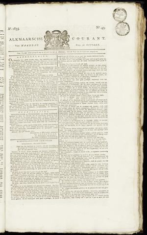 Alkmaarsche Courant 1835-10-26
