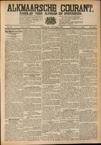 Alkmaarsche Courant 1930-04-16